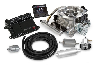 TERMINATOR EFI 4BBL THROTTLE BODY FUEL INJECTION MASTER kit